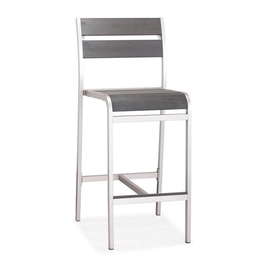 Zuo Modern Megapolis Patio Barstool Chair