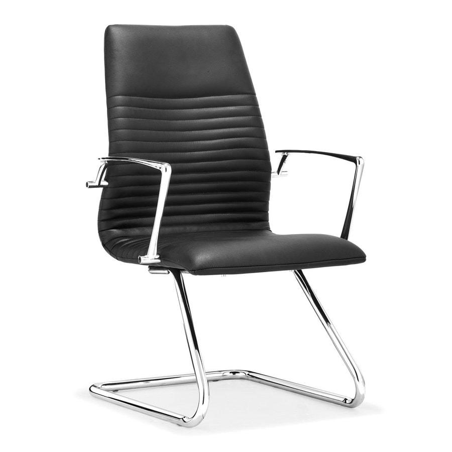 Zuo Modern 1-Piece Lion Black Reception Chair