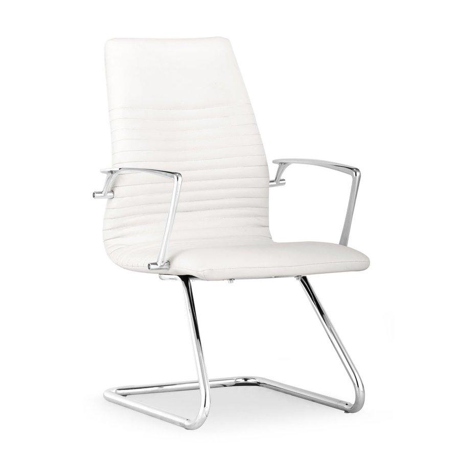 Zuo Modern Lion White Reception Chair