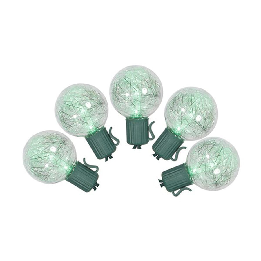 Shop Christmas Central 25 Count Color Changing G40 Led Wiring A Light Fixture Green Wire String Lights