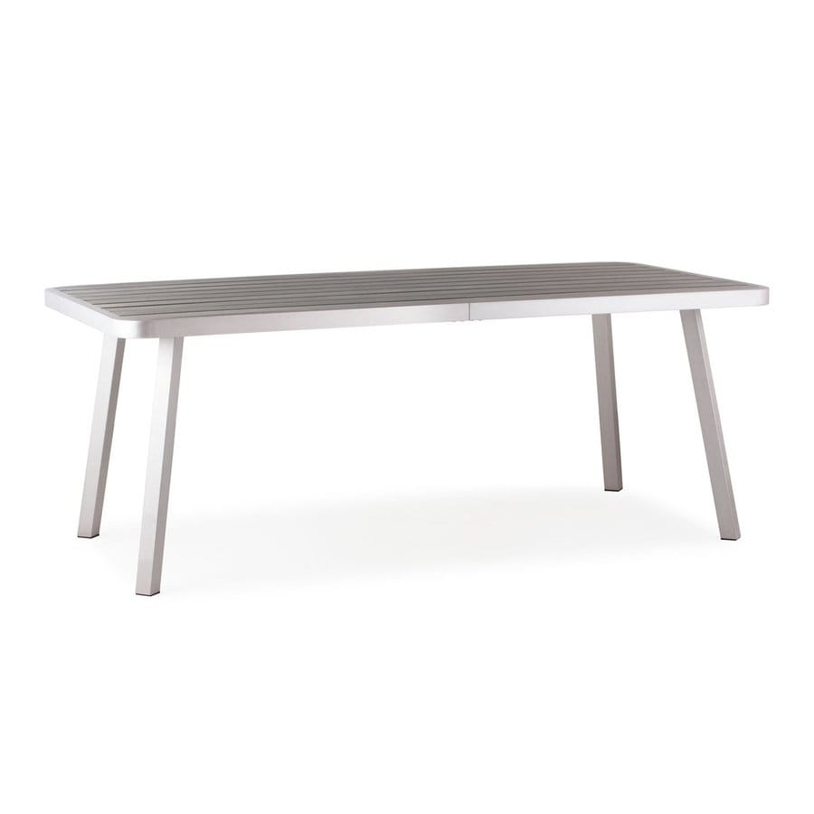 Zuo Modern Township 39.4-in W x 78.7-in L Rectangle Aluminum Dining Table