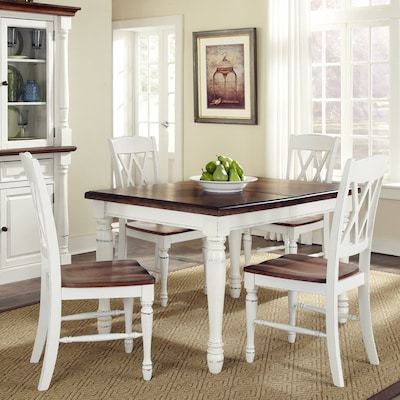 Monarch White Oak 5 Piece Dining Set With Table