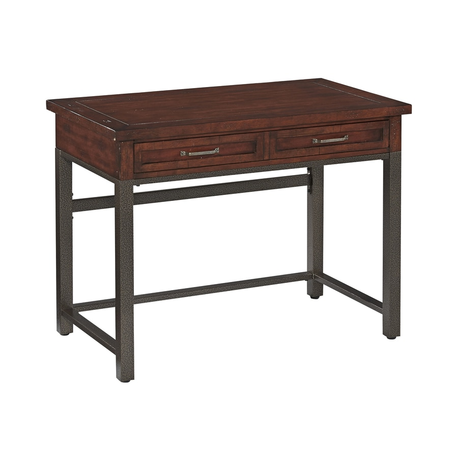 Home Styles Cabin Creek Chestnut Student Desk With Keyboard Tray