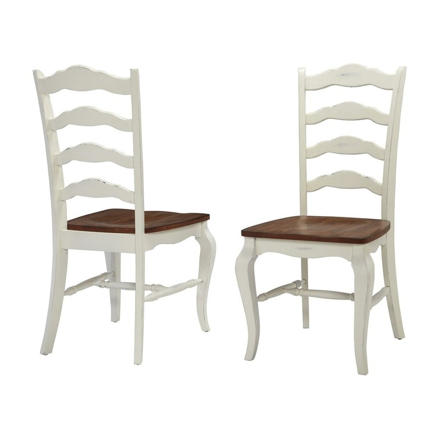 Superbe Home Styles Set Of 2 French Countryside Traditional Oak Side Chairs