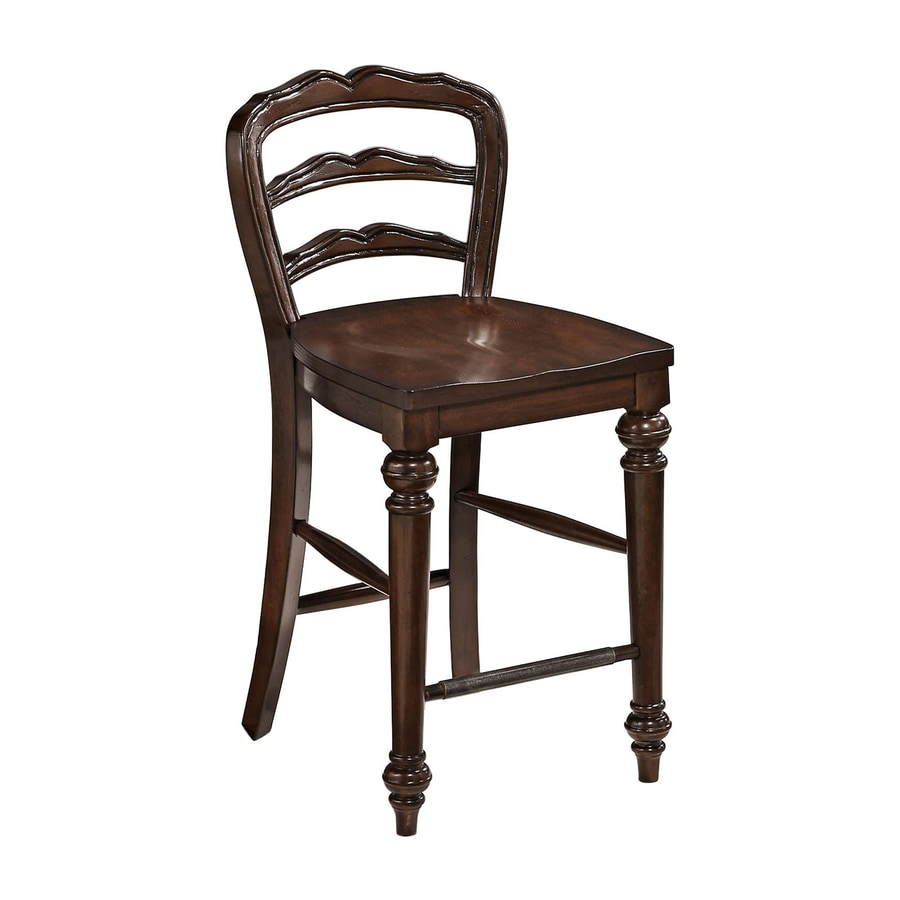 Home Styles Colonial Classic Dark Cherry Counter Stool