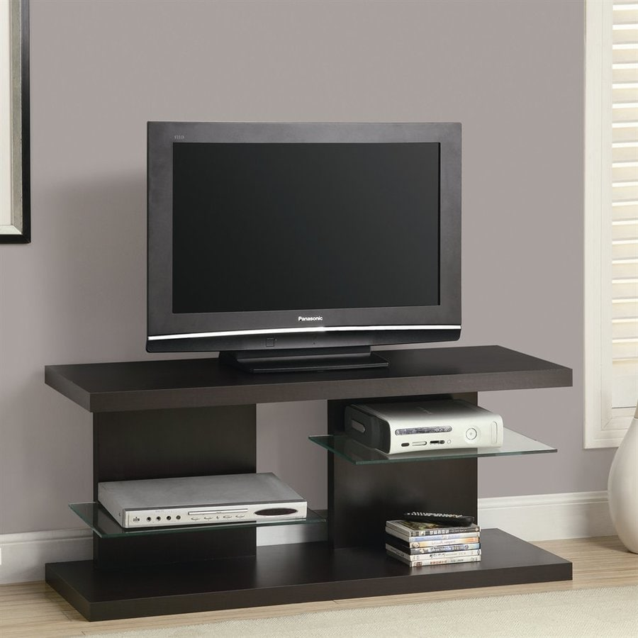 Monarch Specialties Cappuccino Rectangular Universal TV Stand