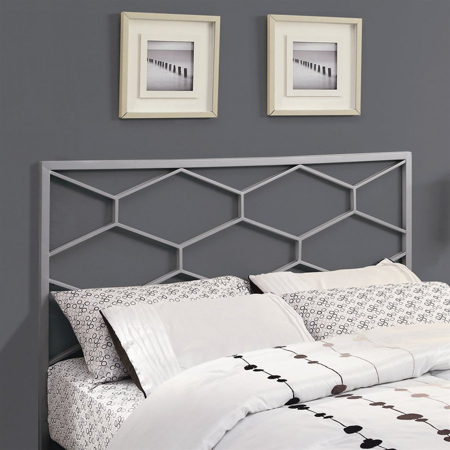 Monarch Specialties Silver Full/Queen Headboard
