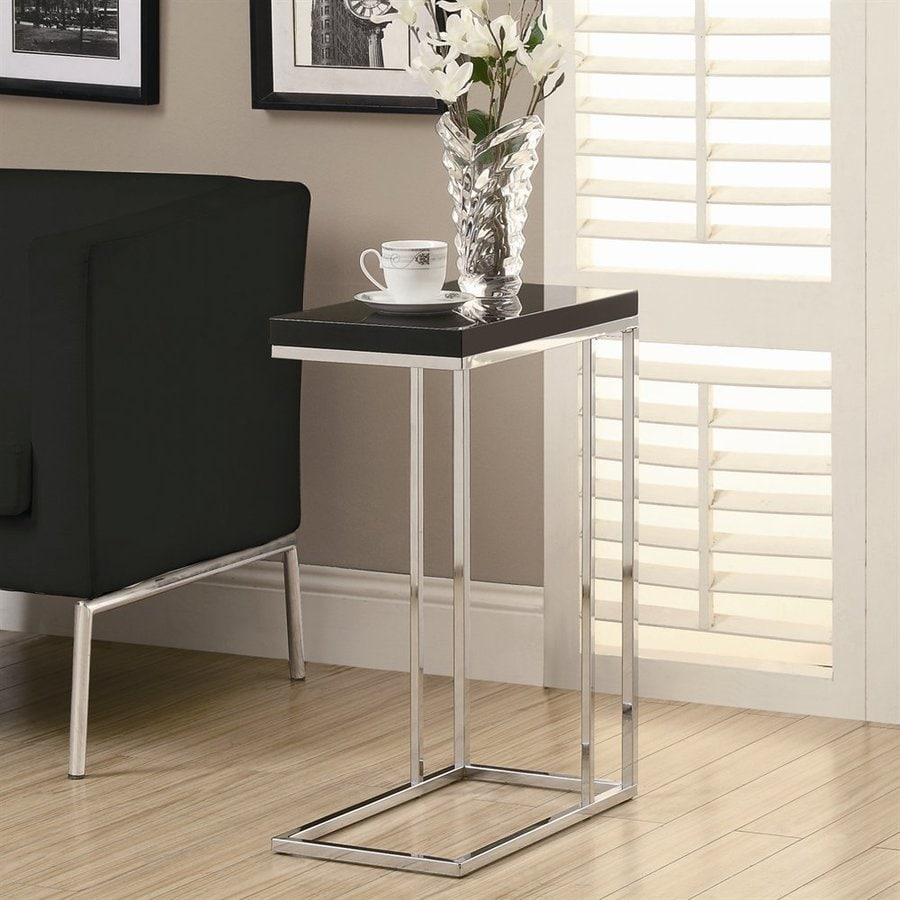 Monarch Specialties Black Rectangular End Table