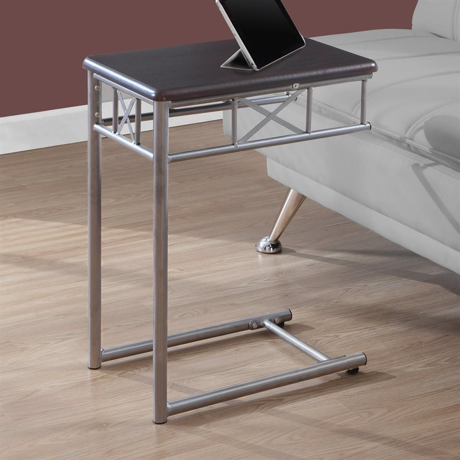Monarch Specialties Cappuccino Square End Table