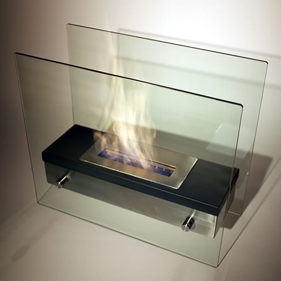 shop nu flame 18 5 in bio fuel fireplace at lowes com