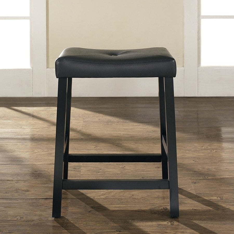 Crosley Furniture Set of 2 Black Counter Stools