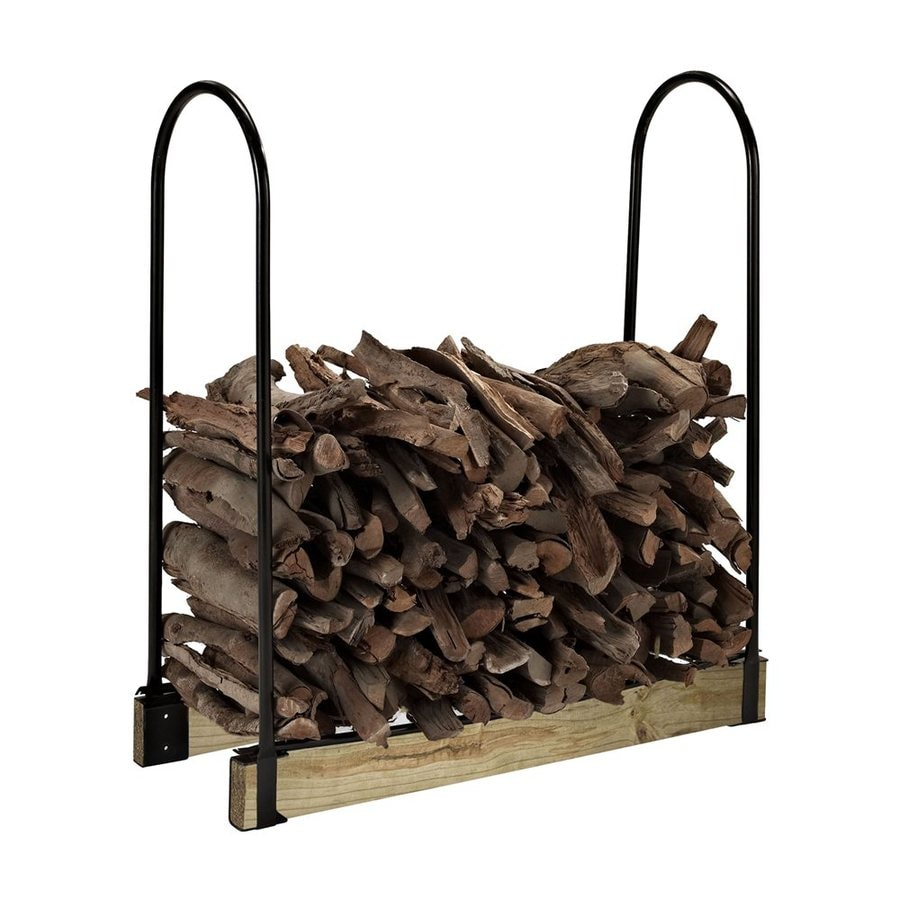 Crosley Furniture 43.75-in x 24-in x 14.75-in Steel Adjustable Firewood Rack
