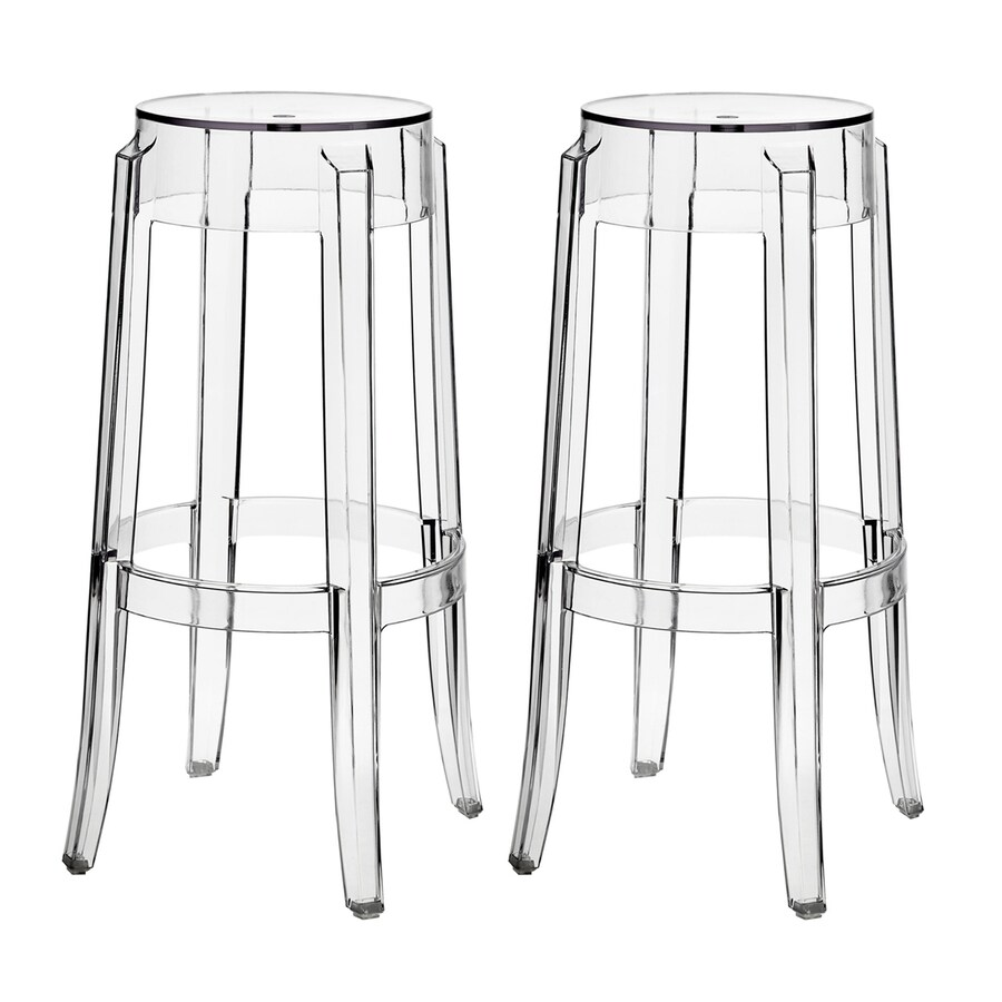 Modway Casper Clear Bar Stool