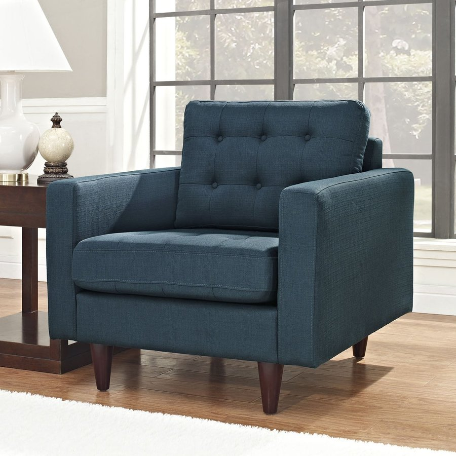 Armless club chairs - Modway Empress Nylon Accent Chair