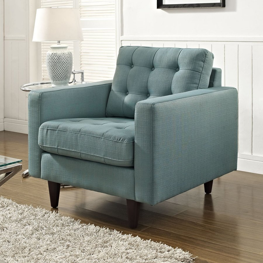 Modway Empress Modern Laguna Nylon Accent Chair