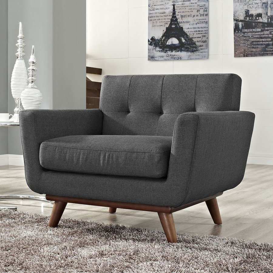 Modway Engage Gray Accent Chair