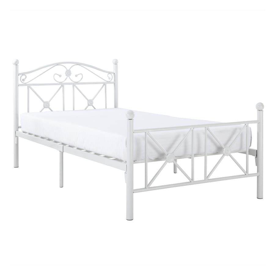 Modway Cottage White Twin Platform Bed