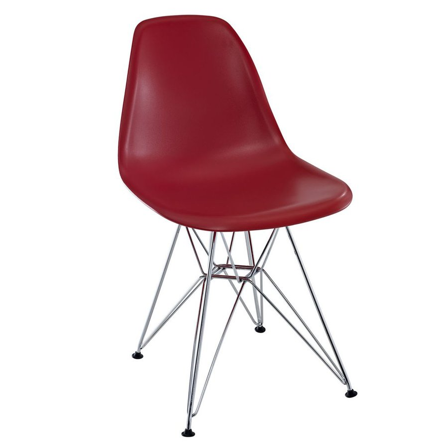 Modway Paris Dark Red Side Chair