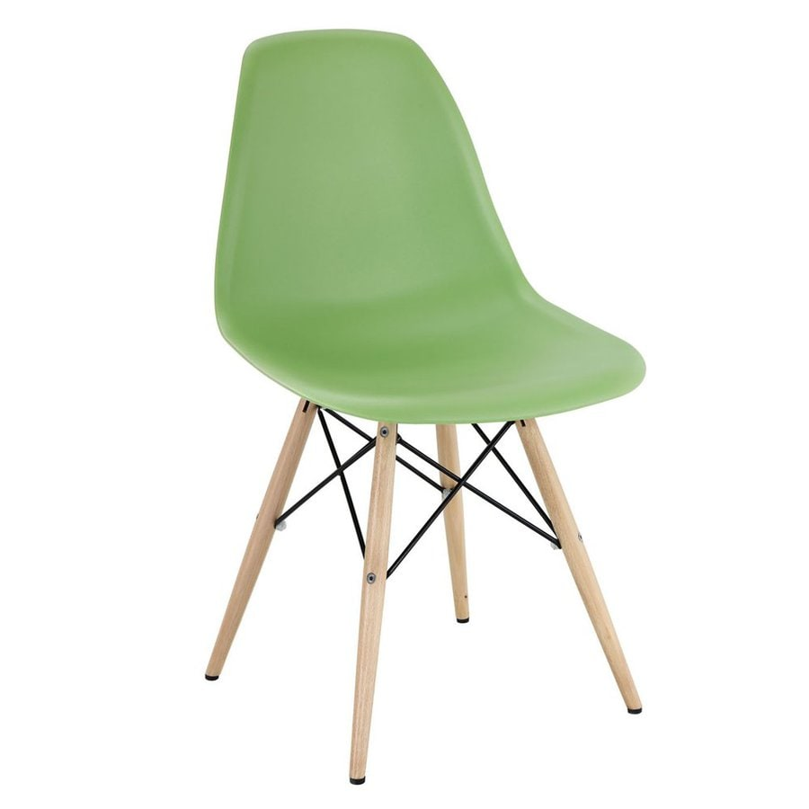 Modway Pyramid Green Side Chair