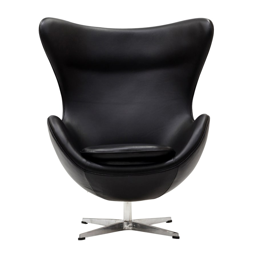 Modway Glove Black Accent Chair