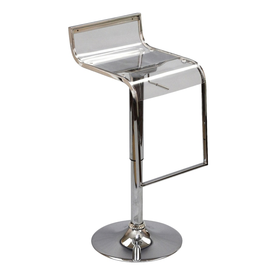 Modway LEM Clear Bar Stool