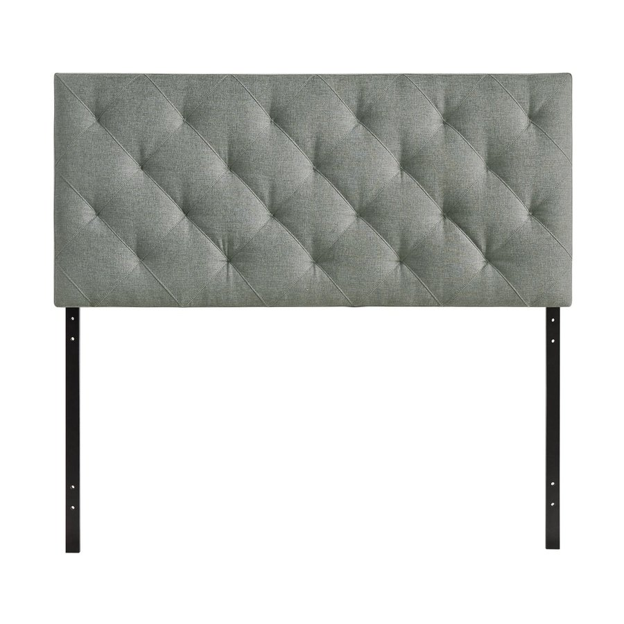 Modway Theodore Gray Queen Linen Upholstered Headboard