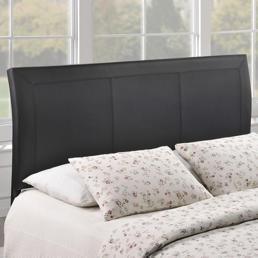 Shop modway isabella black queen vinyl upholstered Headboard with pictures
