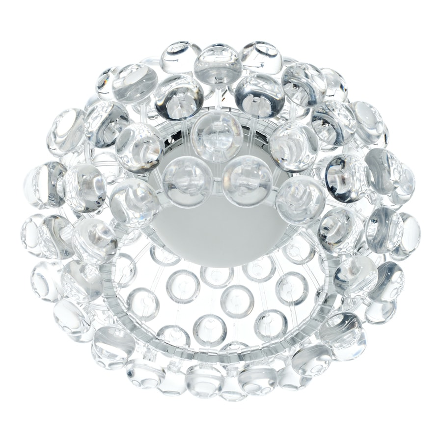 Modway Halo 12-in W Clear Flush Mount Light