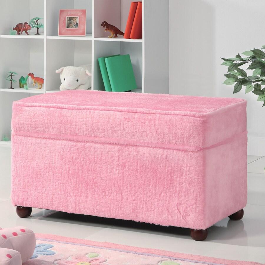 Coaster Fine Furniture Pink Indoor Storage Bench