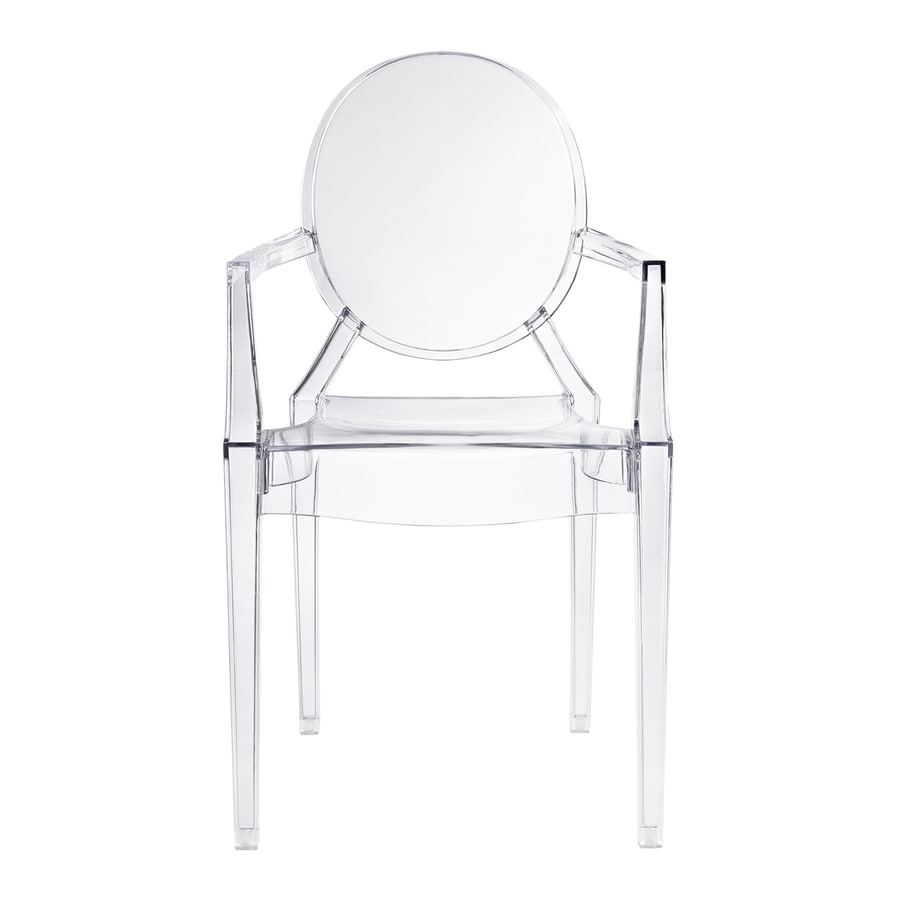 Modway Casper Clear Stackable Arm Chair