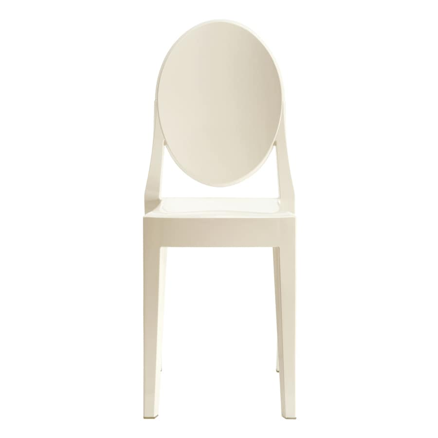 Modway Casper White Stackable Side Chair