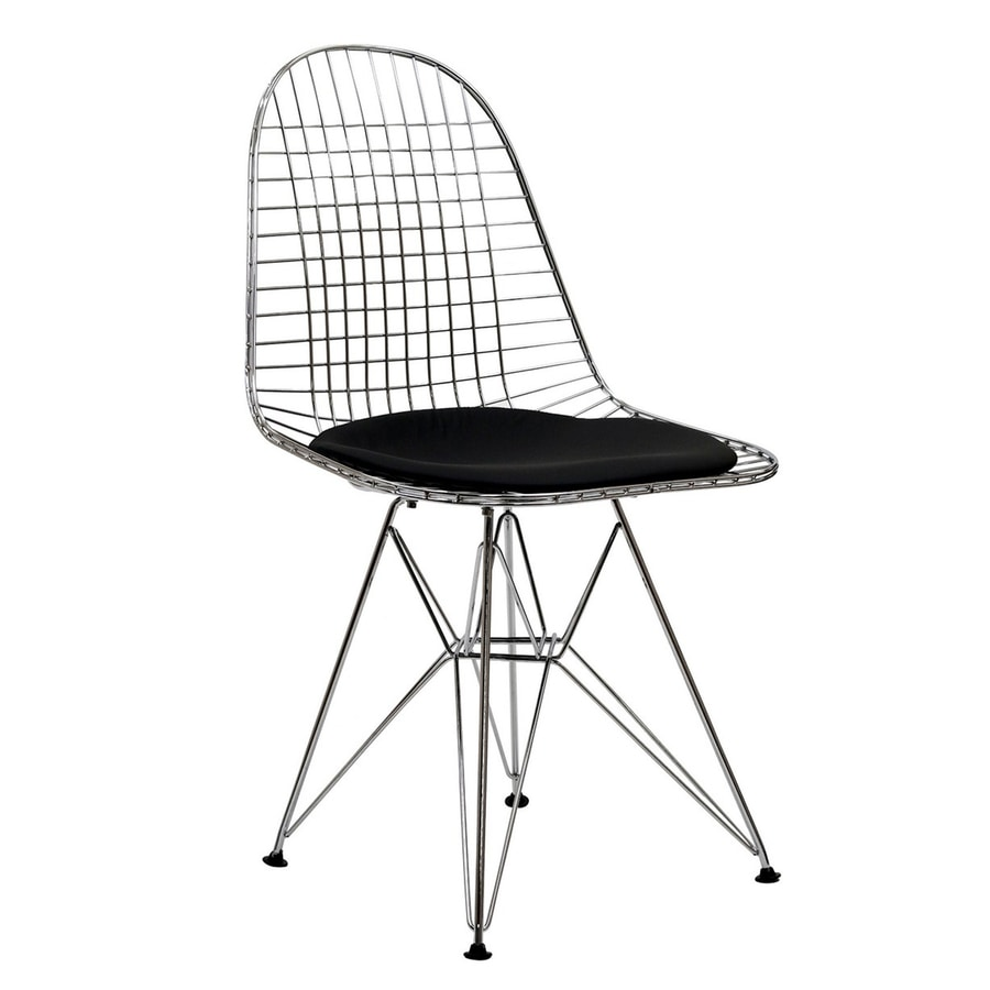 Modway Tower Silver Side Chair