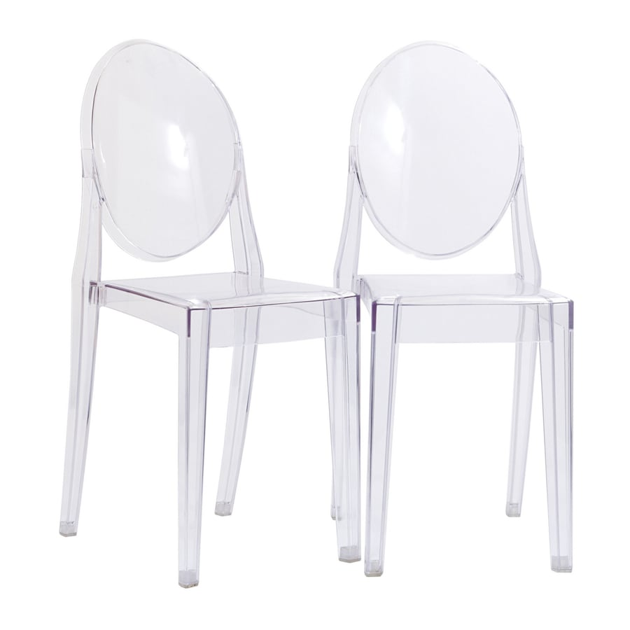 Modway Set of 2 Casper Contemporary Side Chair