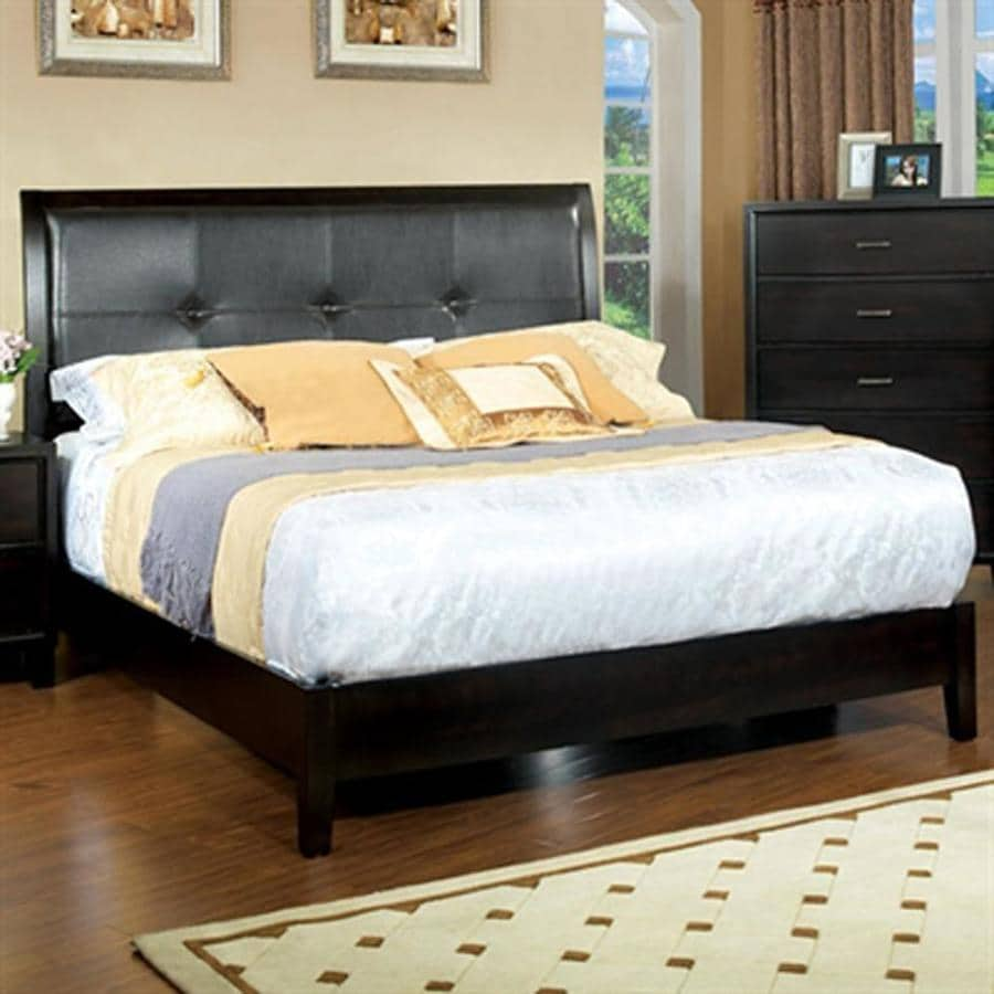 Furniture of America Enrico Espresso Queen Platform Bed