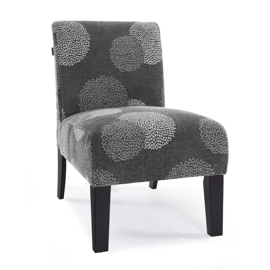 DHI Deco Charcoal Sunflower Accent Chair