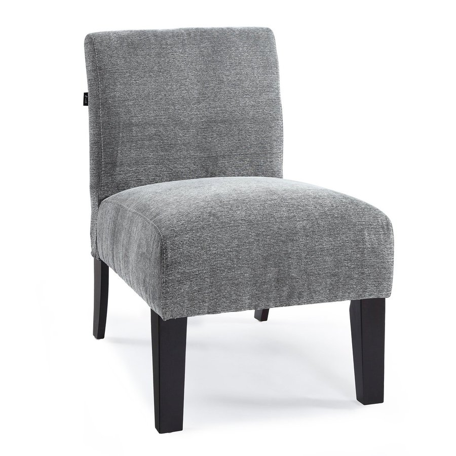 DHI Deco Charcoal Polyester Accent Chair
