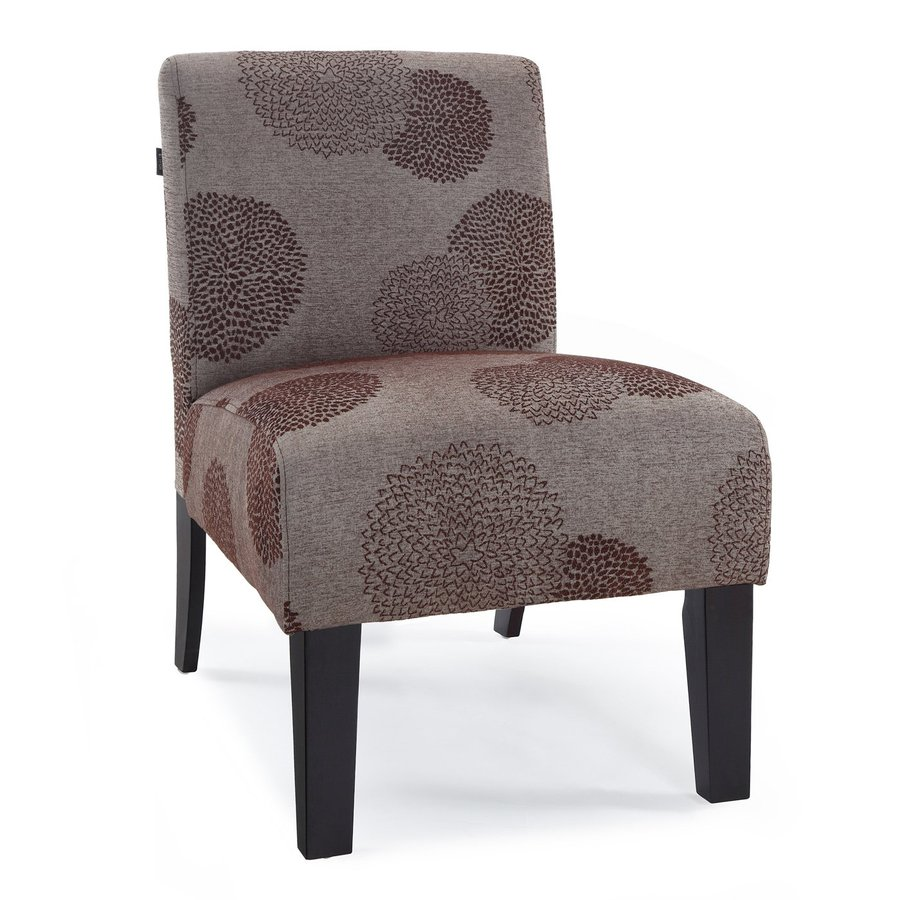Dhi Deco Modern Bark Sunflower Accent Chair At Lowes Com
