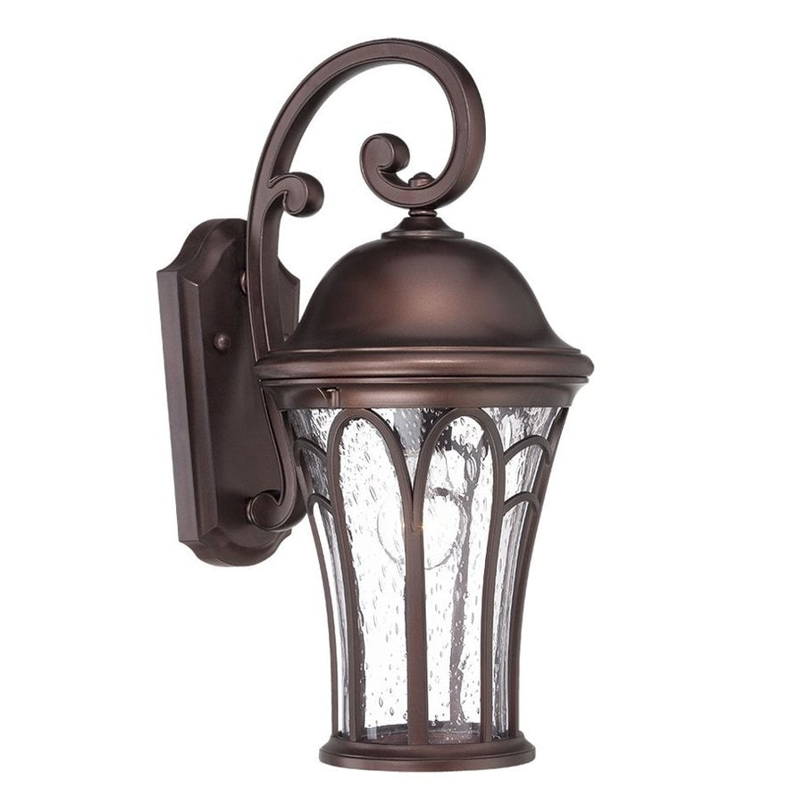 Acclaim Lighting Highgate 16-in H Architectural Bronze  Medium Base (E-26) Outdoor Wall Light