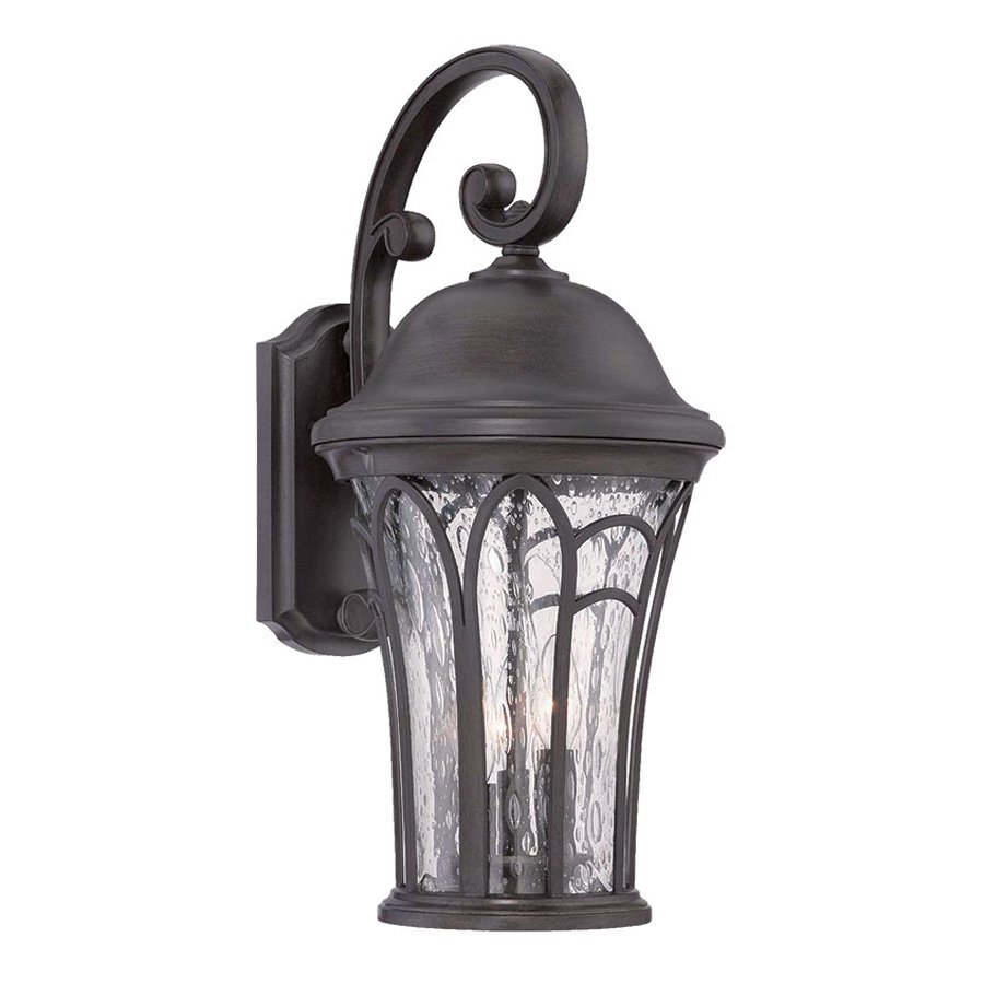 Acclaim Lighting Highgate 16-in H Black Coral Outdoor Wall Light