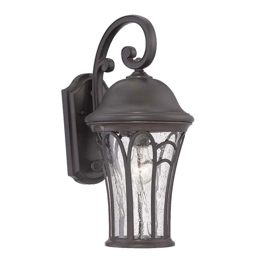 Acclaim Lighting Highgate 19-in H Black Coral Outdoor Wall Light