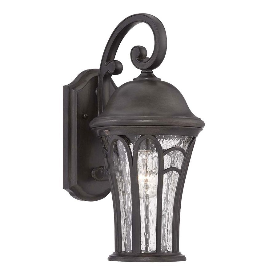 Acclaim Lighting Highgate 22.5-in H Black Coral  Candelabra Base (E-12) Outdoor Wall Light