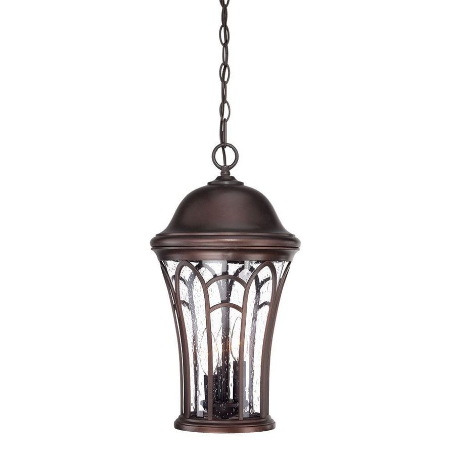 Acclaim Lighting Highgate 19.12-in H Architectural Bronze Outdoor Pendant Light