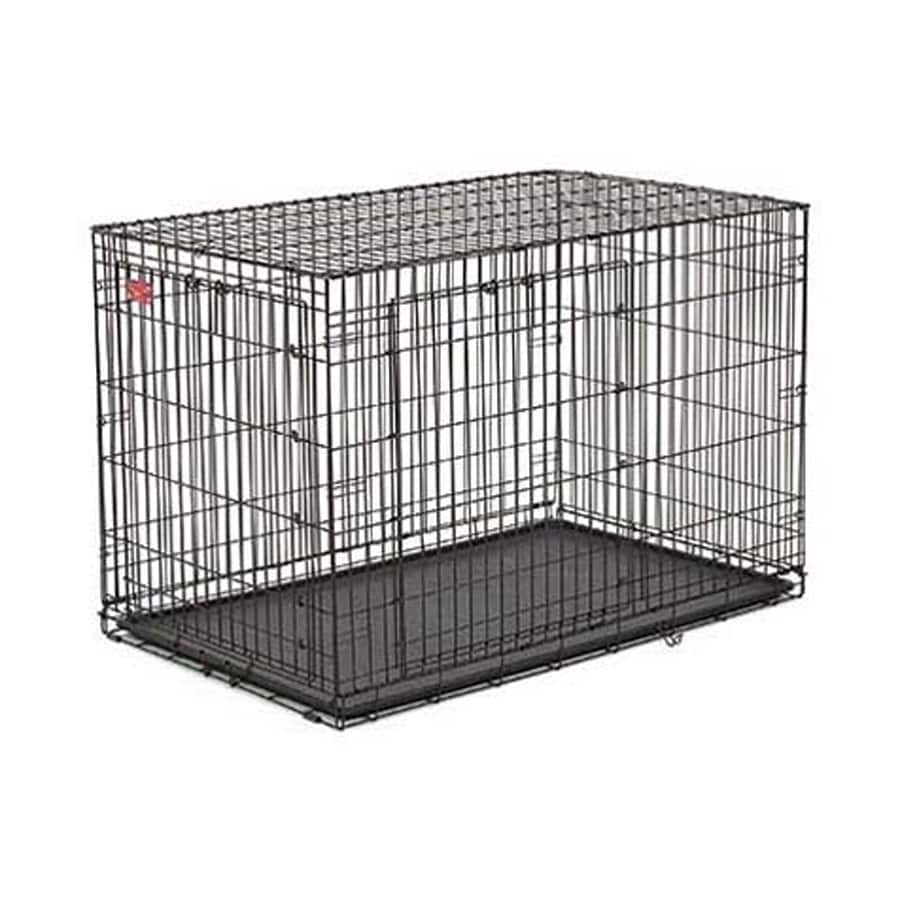 midwest pets 3.562-ft x 2.375-ft x 2.541-ft Outdoor Dog Kennel Preassembled Kit