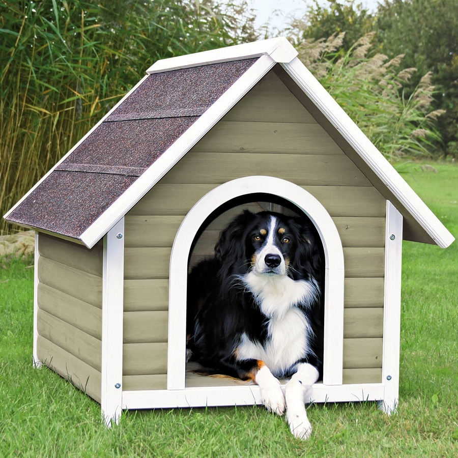 Shop trixie pet products 277 ft x 2604 ft x 3083 ft for Hard plastic dog house