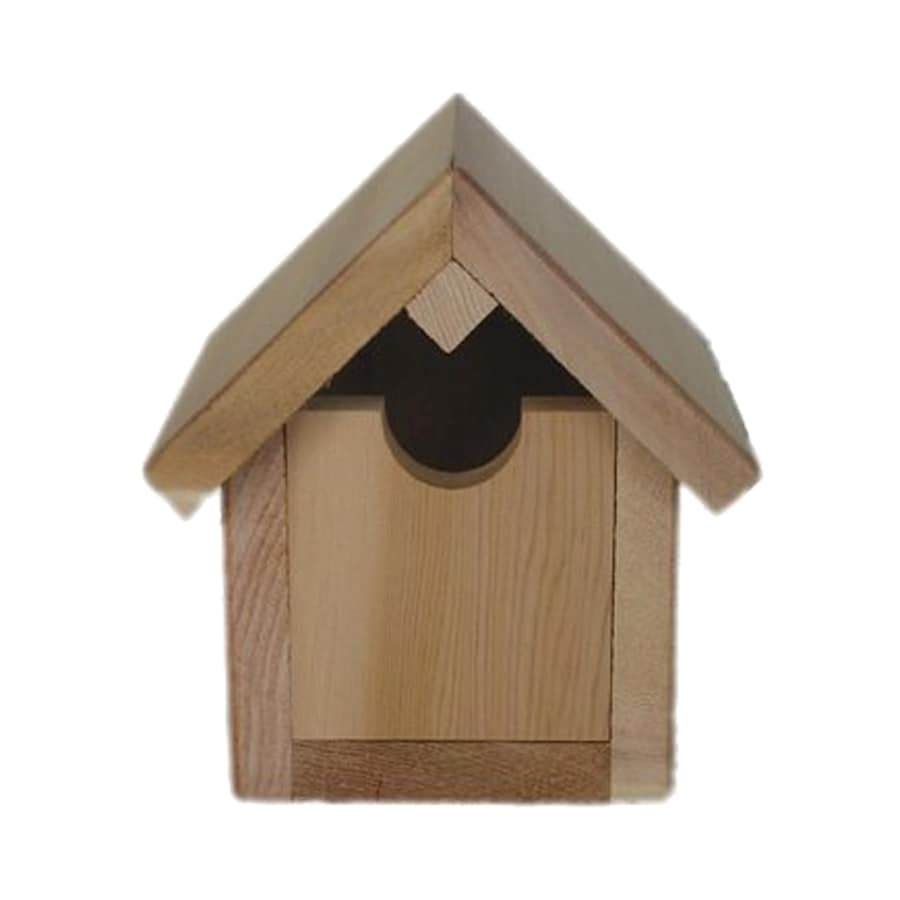 All Things Cedar 8-in W x 5-in H x 7-in D Bird House