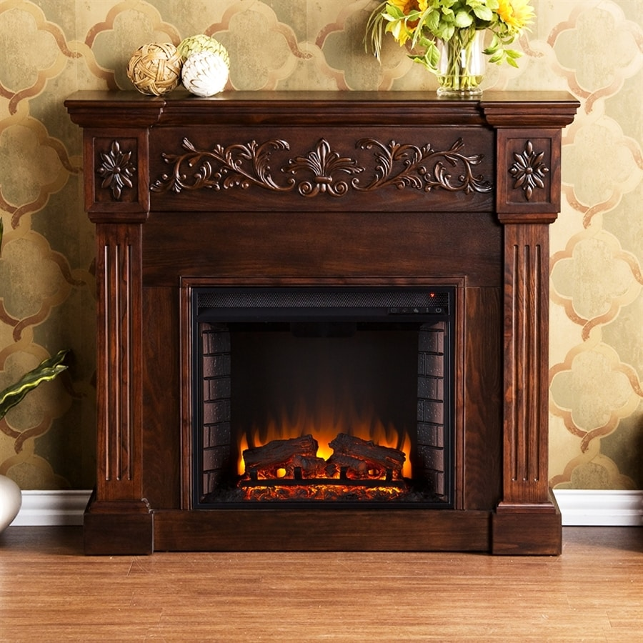 Shop boston loft furnishings 44 5 in w 4700 btu espresso Loft fireplace