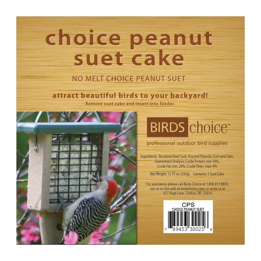 Birds Choice 11.75-oz Peanut Suet