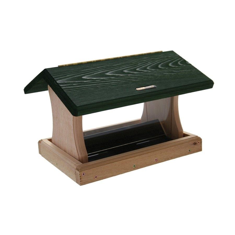 Birds Choice Cedar 5-Quart Hopper Bird Feeder
