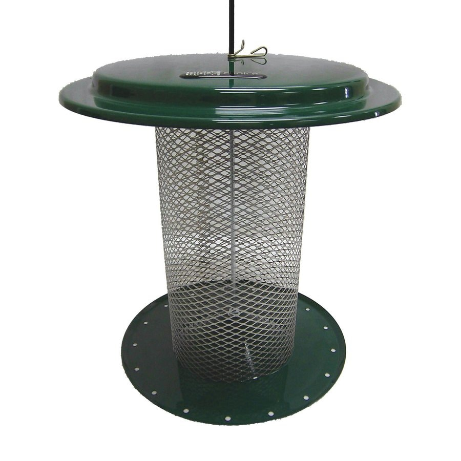Birds Choice Safflower Steel 3-Quart Tube Bird Feeder