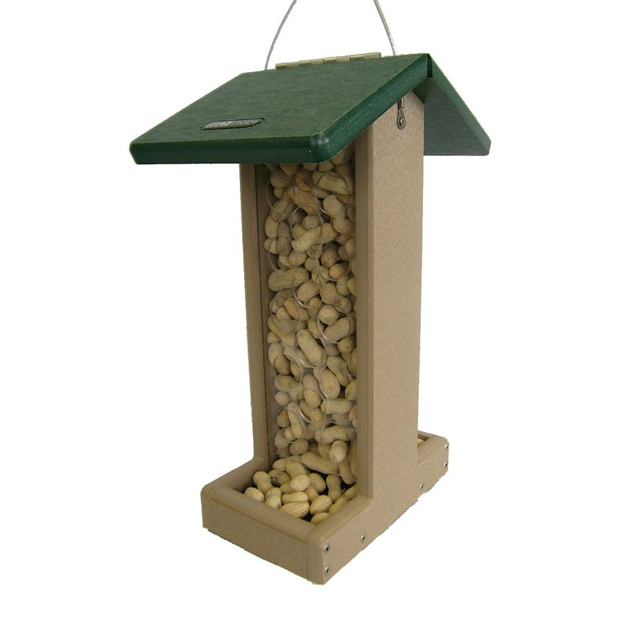 Birds Choice Recycled Plastic Hopper Bird Feeder